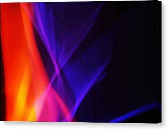 Painting With Light 3 Canvas Print by Chris Rodenberg