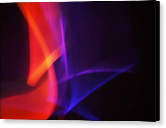 Painting With Light 4 Canvas Print by Chris Rodenberg