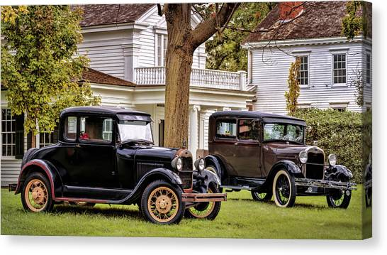 Pair Of Ford Model A  Canvas Print