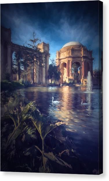 Palace Of Fine Arts Canvas Print