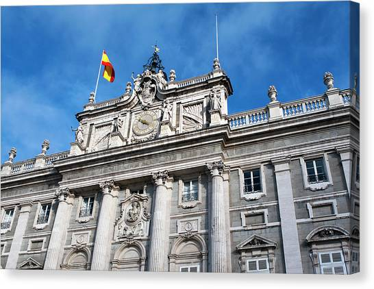 Palacio Real Canvas Print
