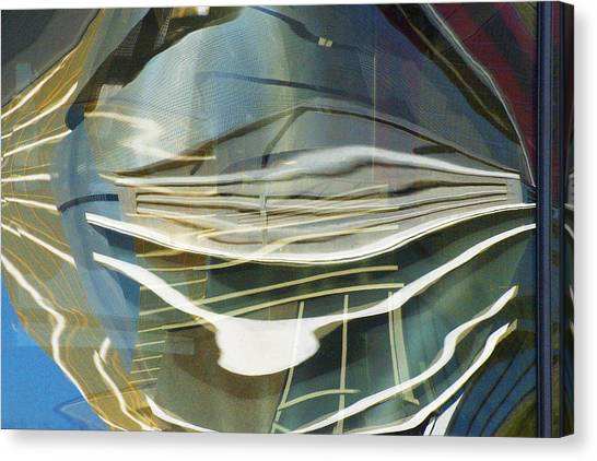 Palazo Hotel Reflection Canvas Print by Richard Henne