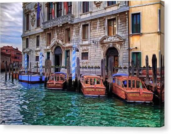 Palazzo Balbi Venice Canvas Print