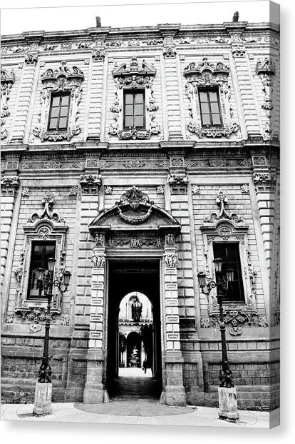Palazzo Dei Celestini Canvas Print