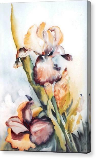 Pale Iris Canvas Print
