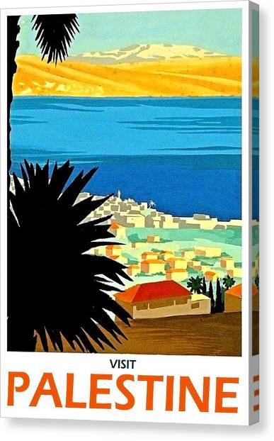 Palestinian Canvas Print - Palestine, Scenery by Long Shot