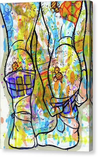 Palette Lad 11 Canvas Print