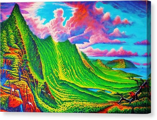 Pali Lookout Canvas Print