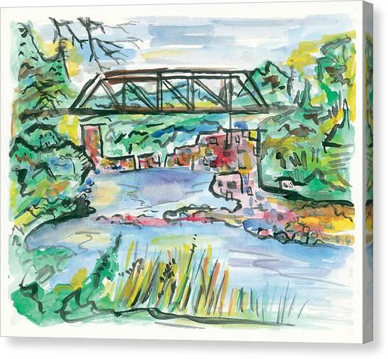 Palisades State Park Canvas Print