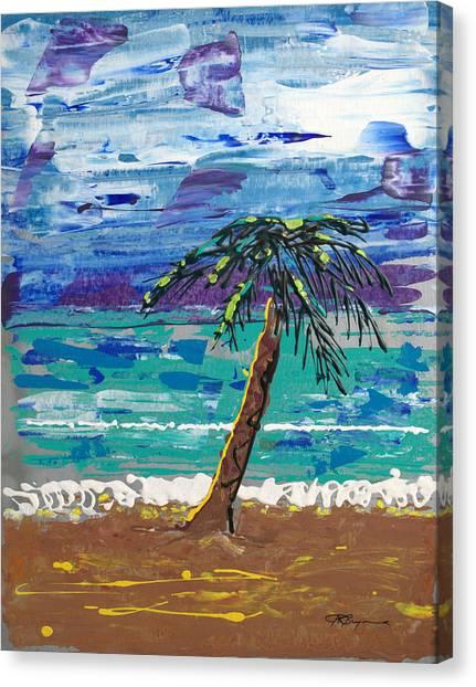 Palm Beach Canvas Print