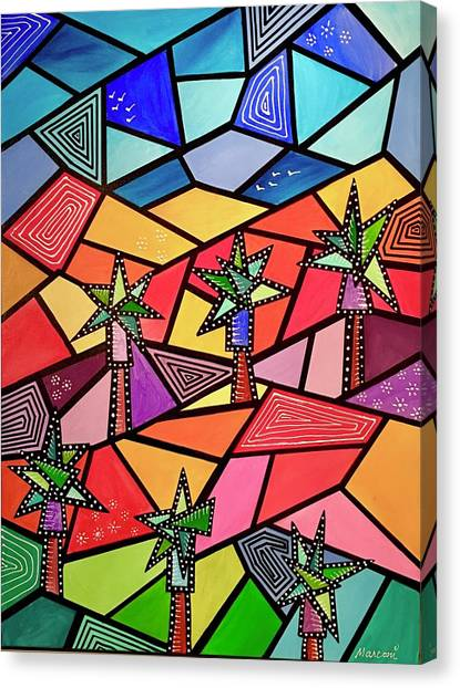 Palm Desert Canvas Print