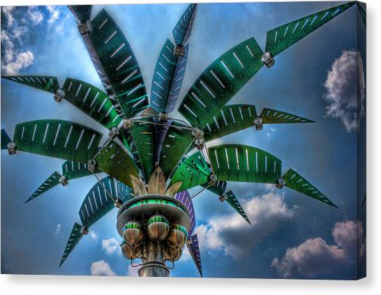 Palm Of Tommorrow Canvas Print