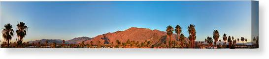 Palm Springs Sunrise Canvas Print