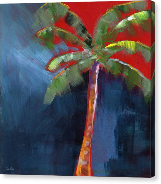 Spring Trees Canvas Print - Palm Tree- Art By Linda Woods by Linda Woods