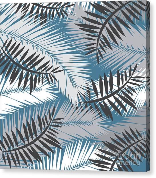 Nature Canvas Print - Palm Trees 10 by Mark Ashkenazi