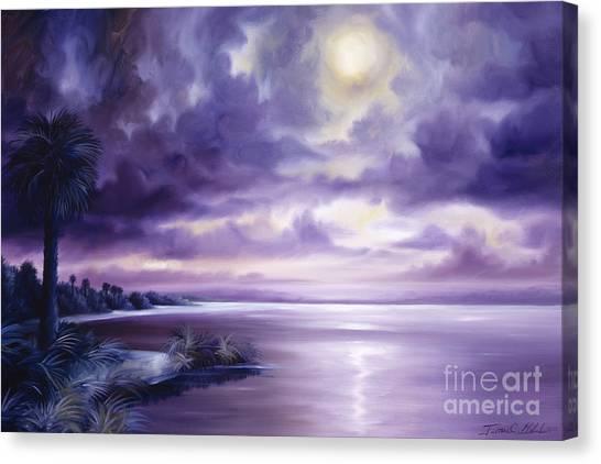 Palmetto Moonscape Canvas Print