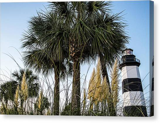 Palms At Lightkeepers Canvas Print
