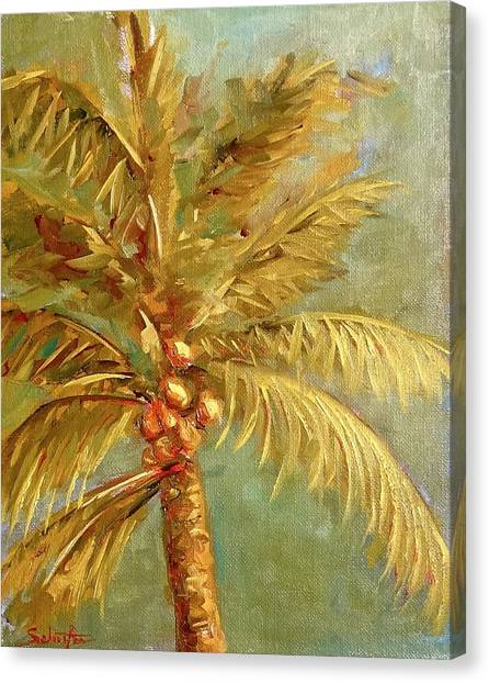 Canvas Print - Palms by Charles Schaefer
