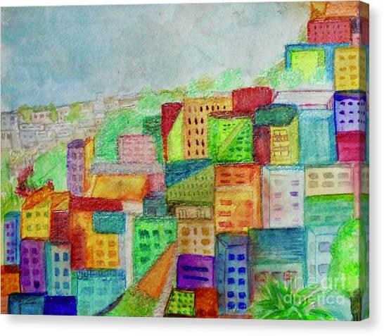 Palmitas Canvas Print