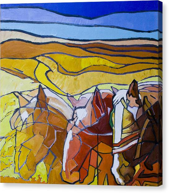 Palouse Trio Canvas Print by Gregg Caudell