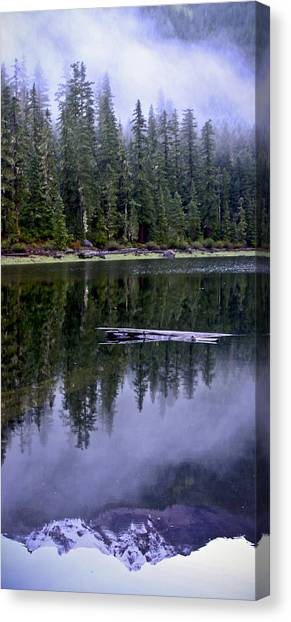 Pamelia Lake Reflection Canvas Print