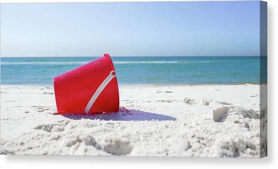 Panama Beach Florida Sandy Beach Canvas Print