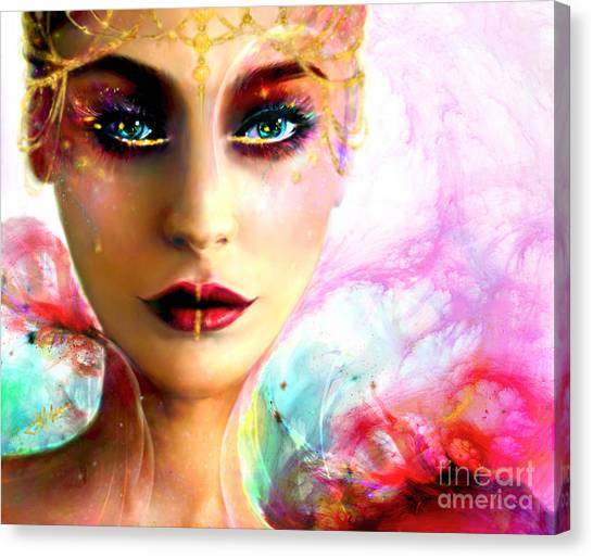 Pandora, The All Giving Canvas Print