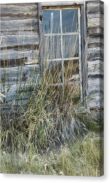 Panes Of The Past Canvas Print