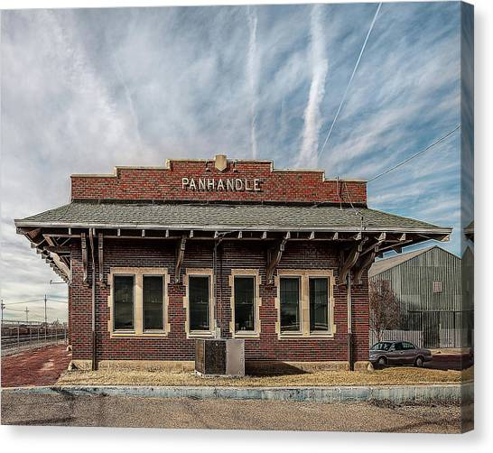 Panhandle Depot Canvas Print