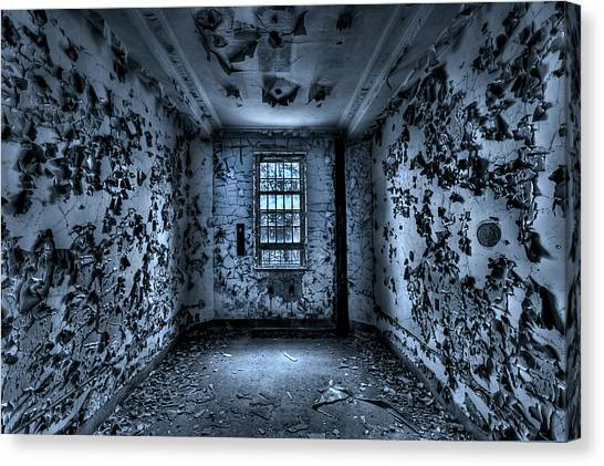 Derelict Canvas Print - Panic Room by Evelina Kremsdorf