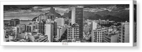 Panorama Leblon - Rio De Janeiro Canvas Print