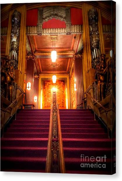 Pantages Theater's Grand Staircase Canvas Print