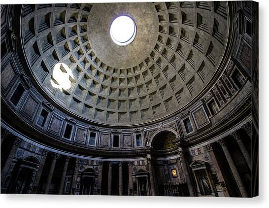 Rome Canvas Print - Pantheon by Nicklas Gustafsson