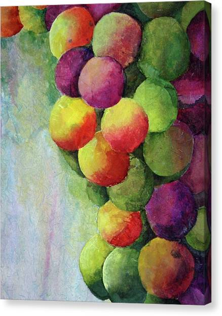 Paper Grapes Canvas Print