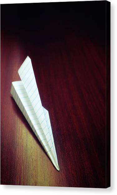 Paper Planes Canvas Print - Paper Plane by Carlos Caetano