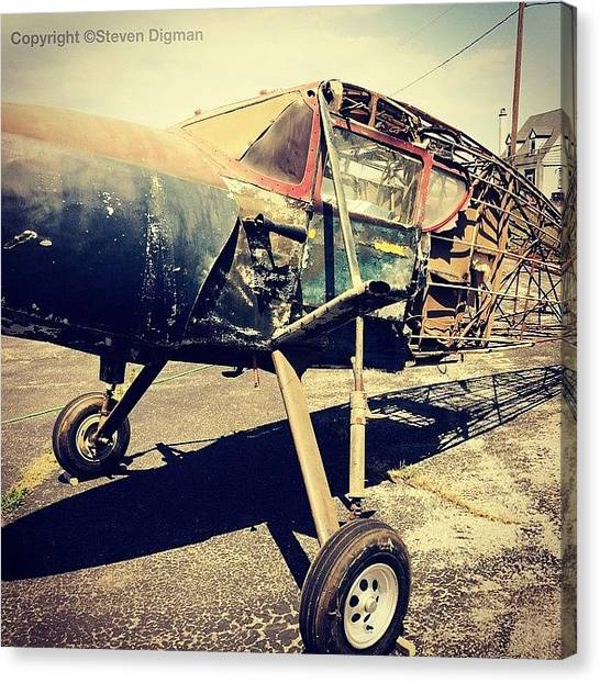 Transportation Canvas Print - Paper Airplanes  by Steven Digman