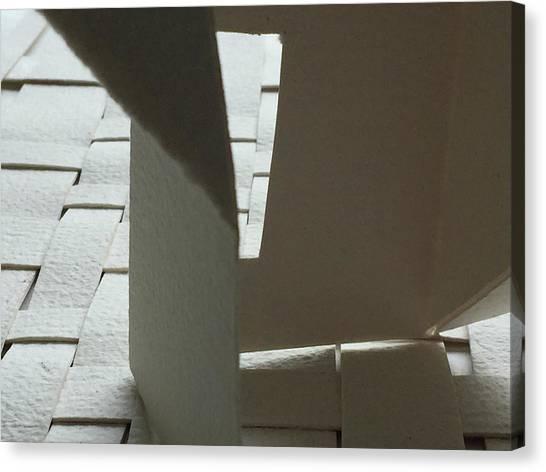 Paper Structure-1 Canvas Print