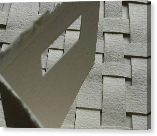 Paper Structure-2 Canvas Print