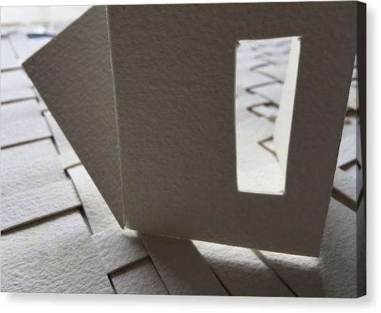 Paper Structure-3 Canvas Print