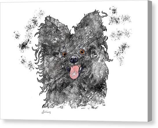 Please Pet Me Canvas Print