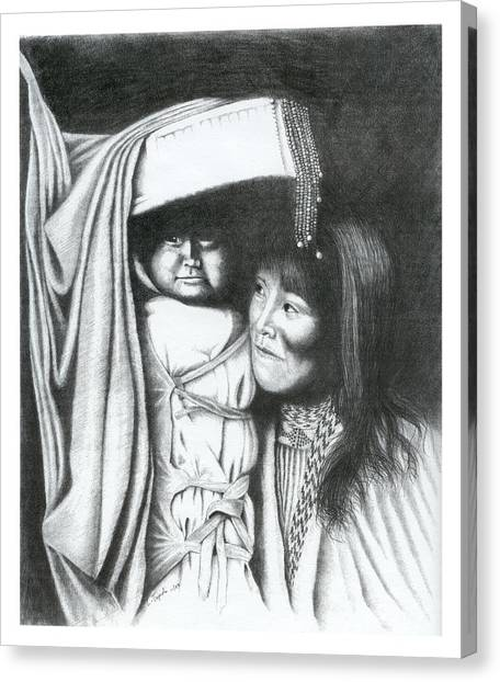Papoose Canvas Print