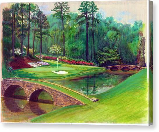 Augusta Canvas Print - Par 3 by Harry West