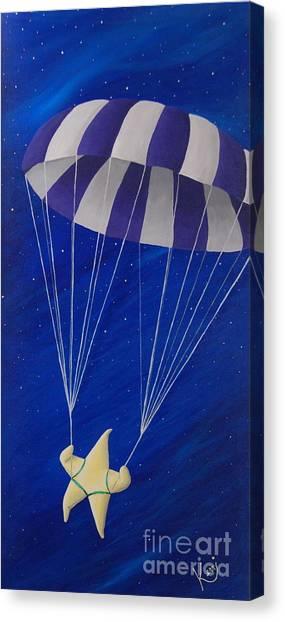 Para-shooting Star Canvas Print