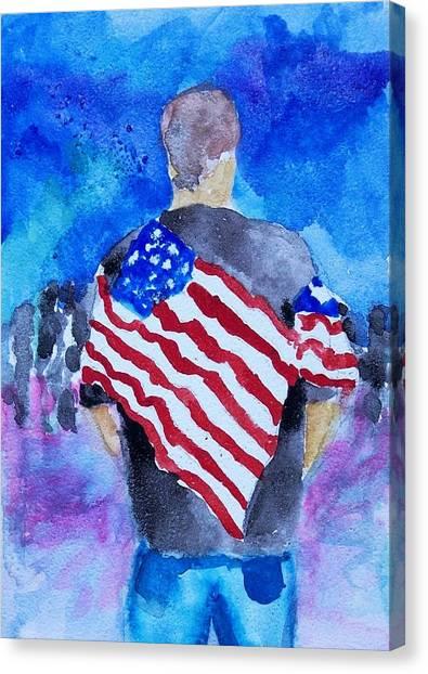 Parade Canvas Print