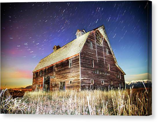 Parade Of Stars Canvas Print by Bryan Moore