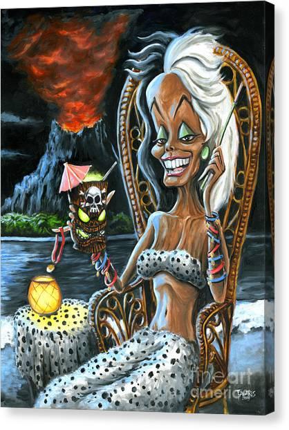 Paradise De Vil Canvas Print