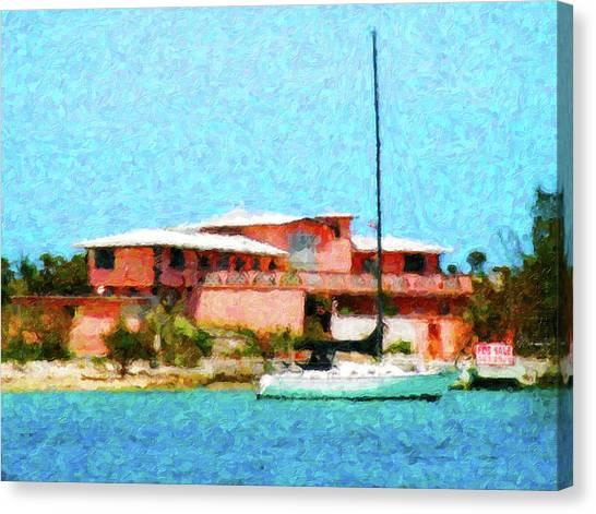 Paradise For Sale Canvas Print