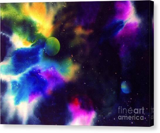 Paradise Planet Canvas Print