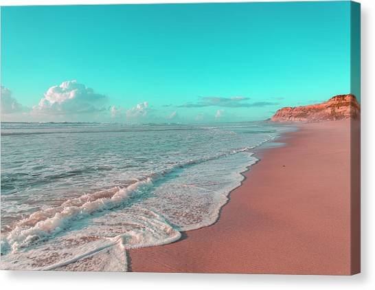 Paradisiac Beaches Canvas Print