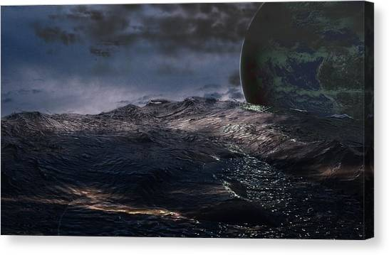 Parallel Universe In Discord Canvas Print